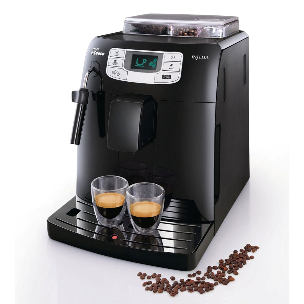 Philips Saeco HD8751/11 Kaffeevollautomat Intelia Focus